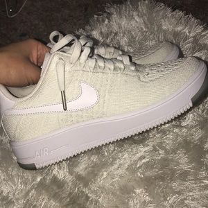 Fly knit air force ones